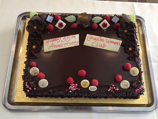 CWC 55th birthday cake